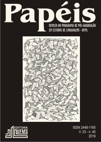 Capa Papéis v. 23, n. 45 - 2019: clique aqui para acesso ao Sumário.