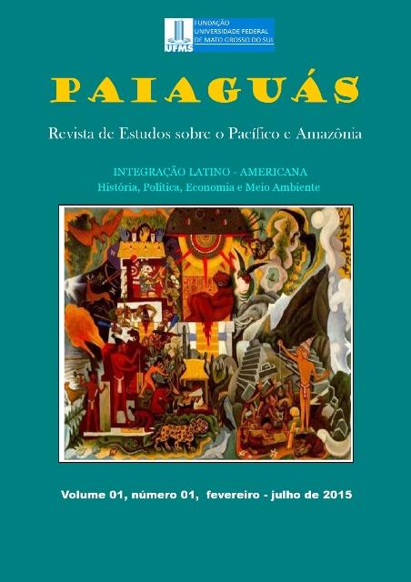 """Ilustração de capa: Diego Rivera; Nuestra América Latina"""" ISSN 2446-9556"""