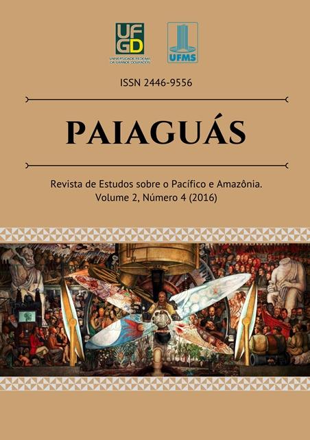 """Ilustração de capa: Diego Rivera; Nuestra América Latina"""""""
